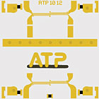 ATP1012: Au Solid Filled Via and Cu Solid Filled Via
