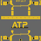 ATP1017: Au Solid Filled Via and Cu Solid Filled Via